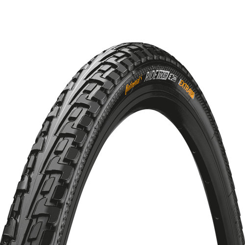 "Ulkorengas 26"" CONTINENTAL Ride Tour 42-584, musta"